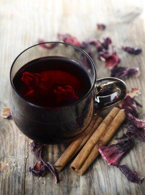 Obraz Herbata hibiskusa