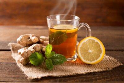 Obraz herbata imbirowa
