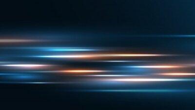 Obraz High speed technology background Speed movement motion blur background.
