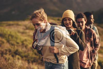 Obraz Hiking trip content for social media