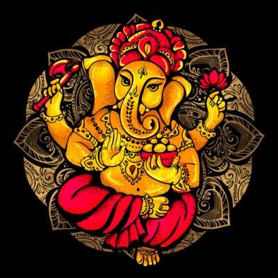 Obraz Hindu Lord Ganesha