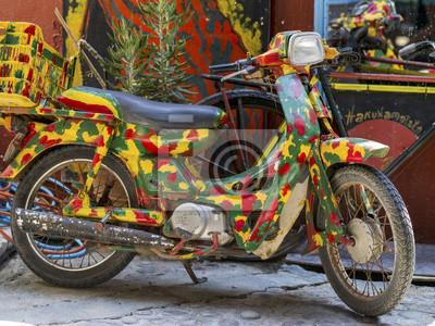 hippie motocykl