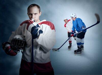 Obraz Hokej na lodzie gry chwila