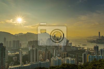 Hong Kong cityscape Fome Braemar Hill