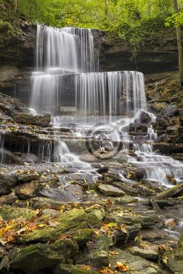 Hrabstwo Miami Waterfall - West Milton Cascades, Ohio