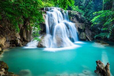 Obraz Huay Mae kamień wodospad w prowincji Kanchanaburi, Tajlandia