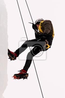 ice climbing - scalata sul ghiaccio