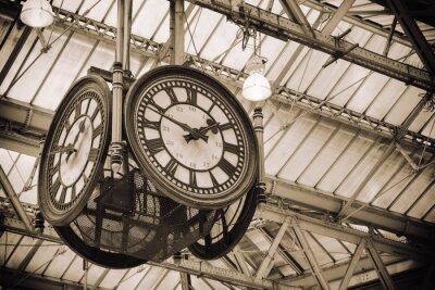 Obraz ikony Stary zegar Waterloo Station, Londyn