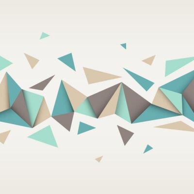 Obraz Ilustracja abstrakcyjne tekstury z trójkątów.