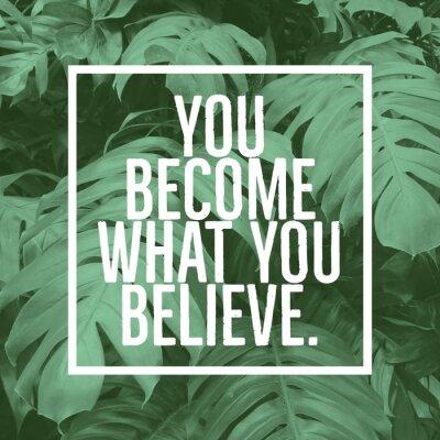 Obraz Inspirujący cytat motywacyjny: