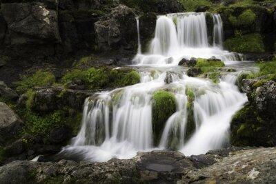 Obraz Islandzki wodospad