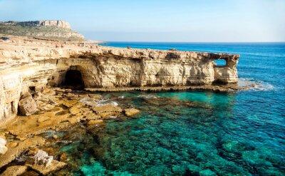 Obraz Jaskinie morskie panorama