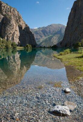Jasne górskie jezioro