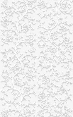 Obraz Jednolite kwiatowy wzór