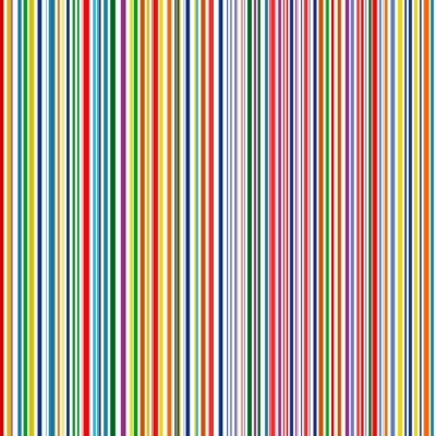 Obraz Jednolite tęczowe paski zakrzywiona linia sztuki kolorów wektora tle