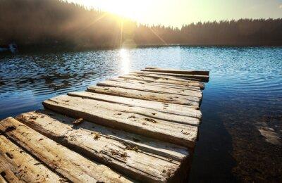 Obraz jezioro