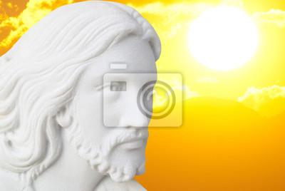 Jezus Chrystus i jasne słońce