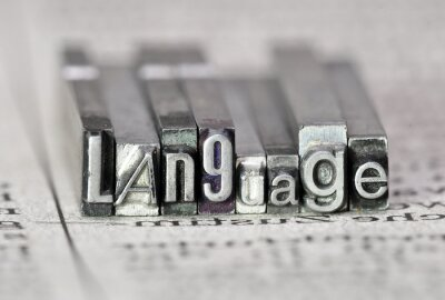 Obraz Język