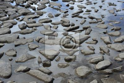 kamienie w wodzie
