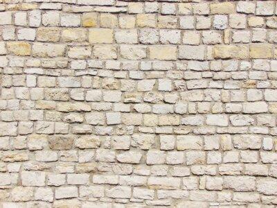 Obraz kamienny mur