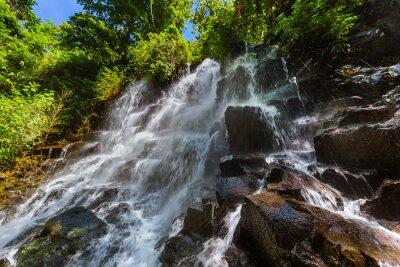 Kanto Lampo Waterfall on Bali island Indonesia
