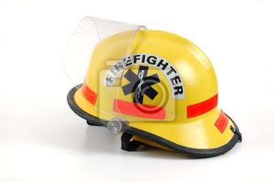 kask strażacy