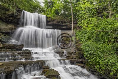 Kaskadowe Whitewater - Kaskady West Milton w hrabstwie Miami w stanie Ohio