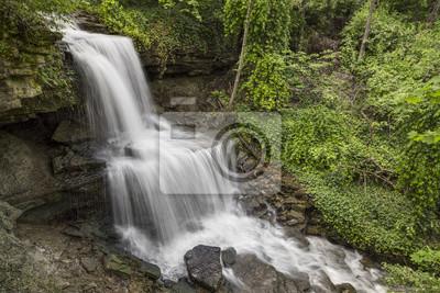 Kaskady West Milton, Wodospad w hrabstwie Miami w stanie Ohio