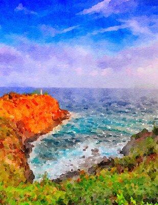 Obraz Kauai Lighthouse