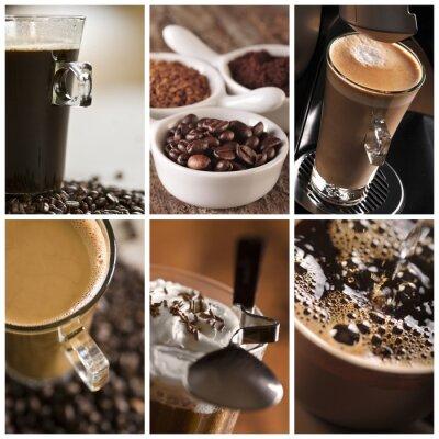 Obraz Kawa - kolaż