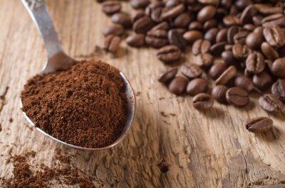 Obraz kawa palona