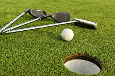 Obraz Kierowca golfa