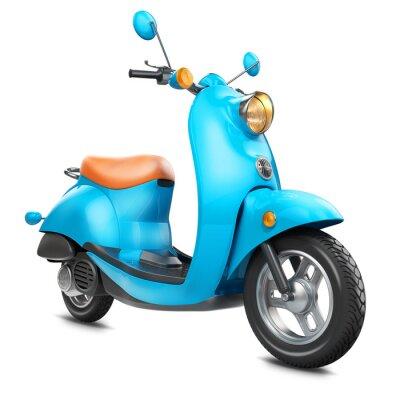 Obraz Klasyczny retro skuter