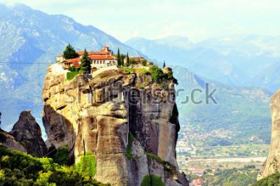 Obraz Klasztory Meteory położone na północ od Grecji w regionie Tesalia