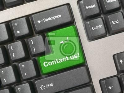 Klawiatura - zielony Kontakt key nam, biznes