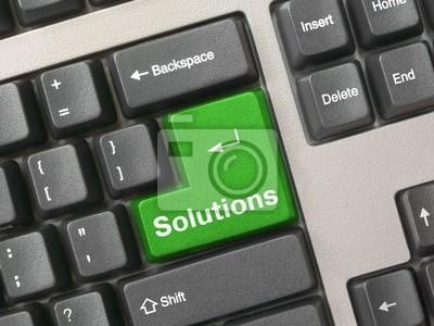 klawiatury - zielony rozwiązania