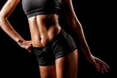 Obraz kobieta, sport, ciało