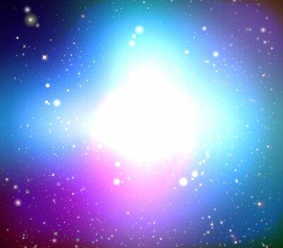 Obraz Kolor galaxy