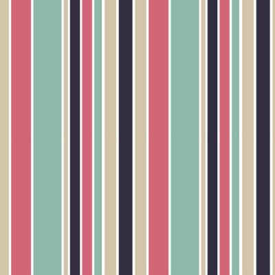 Obraz kolorowe paski pionowe bez szwu wzór tła ilustracji wektorowych