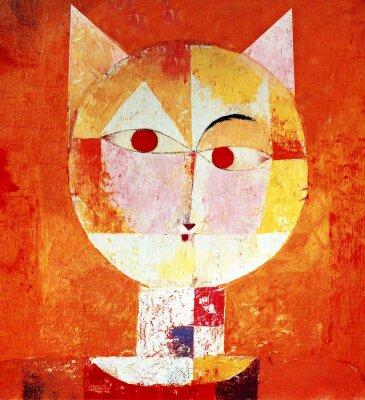 Obraz Kolorowy portret kota