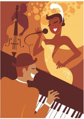 Obraz Koncert jazzowy