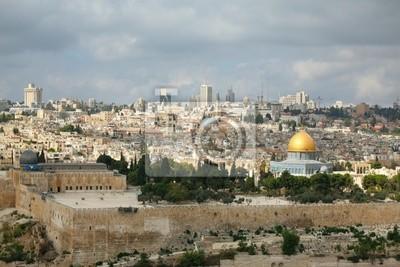 Kopuła na Skale, Meczet Omara i Kopuła Grobu Świętego