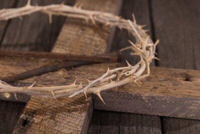 Obraz Korona cierniowa na Krzyżu