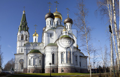 Kościół Aleksandra Newskiego, Knyazhe Ozero, Region Moskwa, Rosja