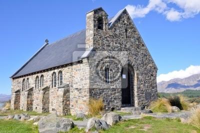 Kościół Dobrego Pasterza, Tekapo jezioro, Nowa Zelandia