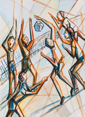 Obraz Koszykówka