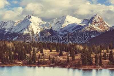 Obraz Krajobraz górski w Colorado Rocky Mountains, Colorado, Stany Zjednoczone.