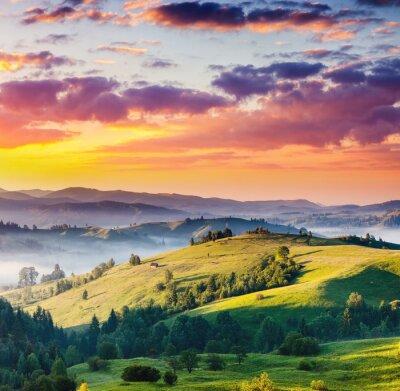 Obraz krajobraz Góry