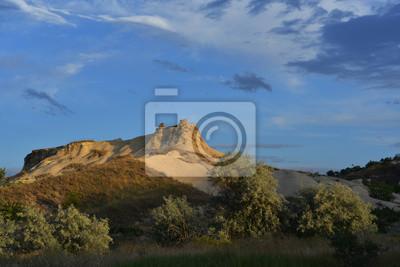 krajobraz w Kapadocji