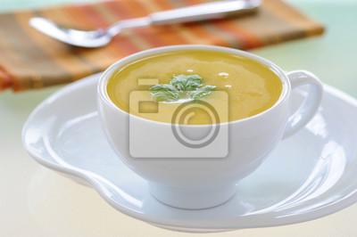 Kremowa zupa Squash